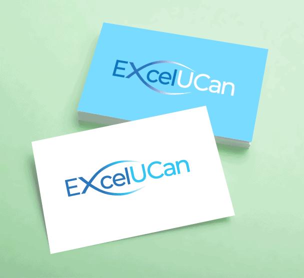 Excel U Can Business cards Edinburgh
